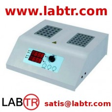 Blok Isıtıcı Dijital 200°C 2 Bloklu Farklı Sıcaklık Kontrollü ABH102